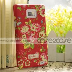 Just snap on the Cath Kidston case, A durable plastic snap on cover for your New Sumsung Galaxy S2. Keep your phone looking like new! Covers are durable plastic to protect your cell phone investment from exterior damage due to daily use. No tools are needed. Change you cover to match all your favorite outfits