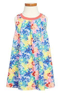 Tea Collection 'Rainbow Bubbles' Trapeze Dress (Toddler Girls, Little Girls & Big Girls) | Nordstrom