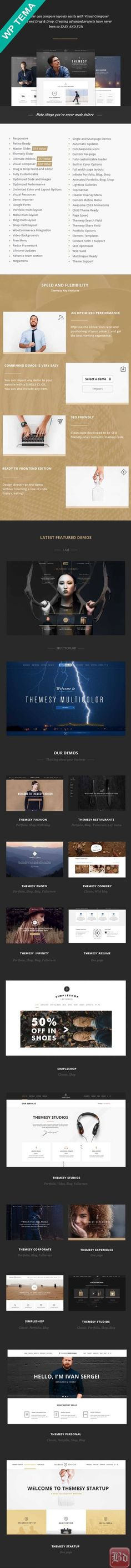 Themesy – Responsive Multi-Purpose WordPress Theme