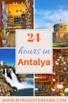 Planning a trip to Antalya, Turkey and want to know the best things to do there? Read this to plan the ultimate city break to Antalya. Turkey Destinations, Travel Destinations, Travel Tips, Asia Travel, Budget Travel, Antalya, Cool Places To Visit, Places To Travel, Stuff To Do