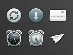 Evernote Preferences Icons