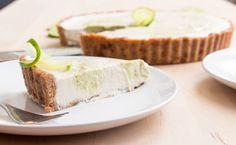 vegan coconut key lime pie | RECIPE on hotforfoodblog.com