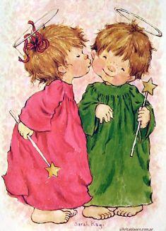 quenalbertini: Christmas Angels by Sarah Kay
