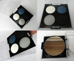 Quarteto de sombras 01- Elegante Koloss Make Up Acompanhe a resenha completa no blog.