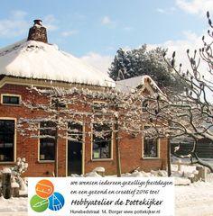 www.pottekijker.nl Cabin, House Styles, Home Decor, Decoration Home, Room Decor, Cabins, Cottage, Home Interior Design, Wooden Houses