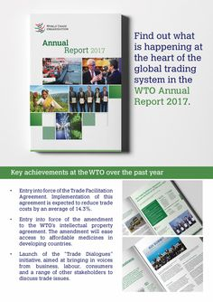2017 News items - WTO issues 2017 Annual Report World Organizations, News Apps, World Trade, Encouragement, The Past, Shit Happens, Learning, Heart, Education
