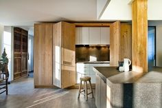 Apartment Kitchen Decor Moliere Residence by Olivier Chabaud Architecte. Apartment Kitchen Decor Moliere Residence by Olivier Chabaud Architecte Cute Home Decor, Cheap Home Decor, Apartment Kitchen, Kitchen Interior, Interior Plants, Kitchen Dining, Kitchen Decor, Kitchen Ideas, Kitchen Wood
