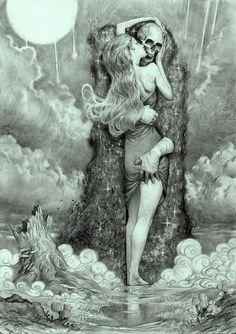 Miles Johnston, Illustrations. Incredible, darkly... - SUPERSONIC ART
