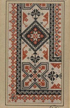 Gallery.ru / Фото #66 - старинные ковры и схемы для вышивки - SvetlanN