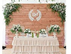 Engagement Decorations, Backdrop Decorations, Diy Wedding Decorations, Decoration Table, Vintage Wedding Backdrop, Rustic Wedding Backdrops, Wedding Photo Booth, Bridal Table, Wedding Table
