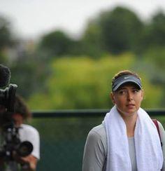Sharapova. Practice. Wimbledon. 2014. Tennis Tournaments, Wimbledon, Captain Hat, Baseball Hats, Baseball Caps, Caps Hats, Baseball Cap, Snapback Hats