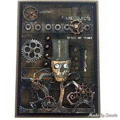 Heavy Metal Halloween card by smouwen - at Splitcoaststampers - 12/31/17.  https://www.splitcoaststampers.com/gallery/photo/2843786?