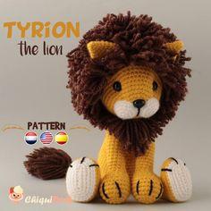Patrón crochet León