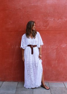 DIY Lace kaftan