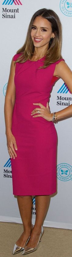 Jessica Alba In Roland Mouret – The Honest Company Ultra Clean Room Unveiled at The Mount Sinai Hospital
