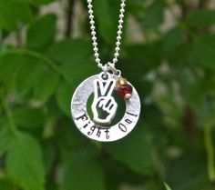 Fight On! Trojan Necklace - Sterling Silver, Trojan Pride Jewelry, Trojan Christmas Gift on Etsy, $46.00