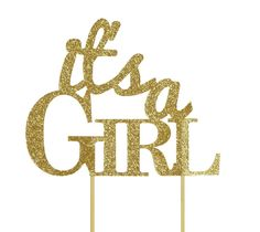 All About Details Gold It's-a-girl Cake Topper >>> Be sure to check out this awesome product.