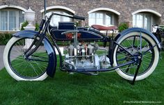 Antique Motorcycles   1918 Excelsior Henderson Vintage Motorcycle