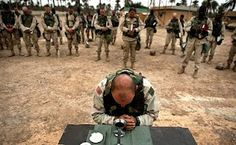 Mass at Camp Victory in Iraq.
