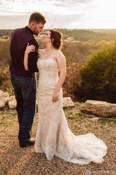 Wedding Photography • Wedding Portraits • Outdoor Wedding • Warm Colors • Alexis Hines Photography
