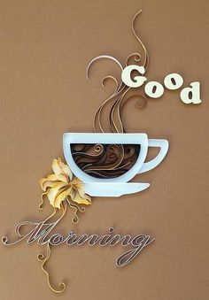 Quilled Treasures Neutral Collection By 3 Birds Quilling Strips 500 Strips of Paper. Learn the art of quilling. 500 pieces x strips. I Love Coffee, Coffee Art, My Coffee, Coffee Nook, Fresh Coffee, Drink Coffee, Good Morning Coffee, Coffee Break, Deco Cafe