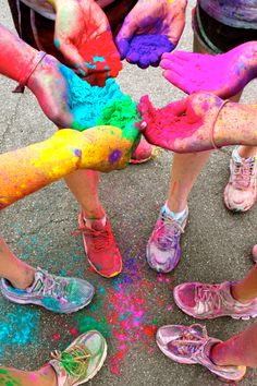 Color Run 2013 - check! - March is just around the corner.  12 weeks to get ready.