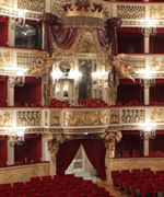Teatro di San Carlo - all boxes - a must see if you're visiting Naples. It's the oldest, continuously operating, theatre in Italy.