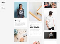 Huntt WordPress theme
