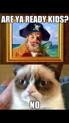 Grumpy cat- spongebob opening theme,, its soo funny Grumpy Cat Quotes, Funny Grumpy Cat Memes, Cat Jokes, Funny Animal Jokes, Cute Funny Animals, Funny Animal Pictures, Animal Memes, Cute Cats, Funny Cats