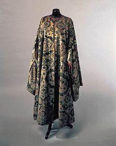 Fortuny velvet coat, c. 1933