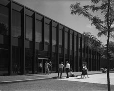 mies van der rohe… meredith hall, drake university, des moines 1962-1965