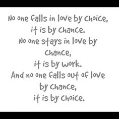 No one falls in live by choice quote
