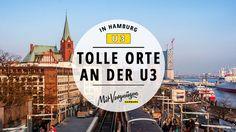 Die U3 dreht ihre urbanen Zirkel durch die Hamburger Ciddy. Wir zeigen dir 11 Orte, die du auf jeden Fall mit der U-Bahn besuchen solltest!