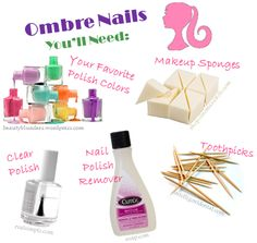 How To: Ombre Nails   GirlsGuideTo