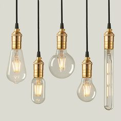LED Edison Bulbs Home Vintage Bombillas Filament Bulbs Warm White Energy Saving Edison Bulbs For Home Decoration Cool Lighting, Lighting Design, Light Bulb Chandelier, Edison Lampe, Edison Bulbs, Tube Led, Deco Luminaire, Glass Globe, Home Living