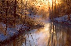 Winter Creek in Single Digits - Greg Walker - Pixdaus