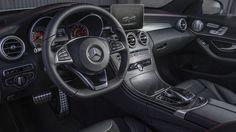 Интерьер кроссовера-купе Mercedes-Benz C450 AMG 4Matic 2016 / Мерседес-Бенц С450 AMG 4Матик