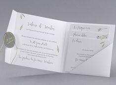 Faire-part de mariage Toscane M40-009 - Collection Vintage - Faire-part-creatif.com Wedding Invitations, Invites, Vintage, Graduation, Weddings, Collection, Bodas, Souvenir, Tuscan Wedding