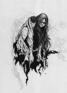 The pontianak is a vampiric ghost in Malay and Indonesian mythology. The pontianak are said to be the spirits of women who died while pregnant.   #ghosts #legends #myth Pontianak by Blur730