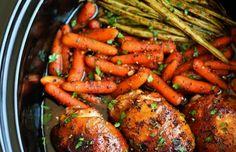 Honey Garlic Chicken and Veggies Recipe on Yummly. @yummly #recipe