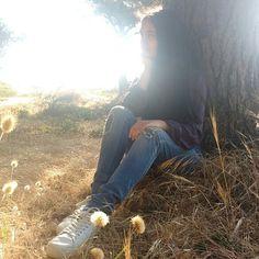 foto tumblr en el bosque
