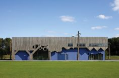 The Heerlijkheid Hoogvliet designed by Fashion Architecture Taste (FAT) is a park and community centre on the outskirts of Hoogvliet, a satellite of Rotterdam