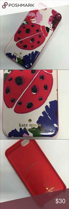 Kate Spade iPhone 6 case Kate spade ladybug iPhone 6 phone case. This is the cutest case and is in perfect condition. kate spade Accessories Phone Cases