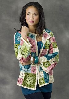 Free Crochet Patterns: Free Crochet Patterns: Granny Squares in Clothes