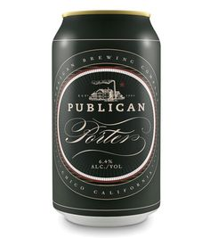 Publican Brewery Cans #packaging