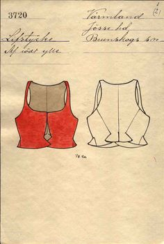 18th Century, Sweden, Corset, Scandinavian, Folk, Cosplay, Traditional, Embroidery, Pattern