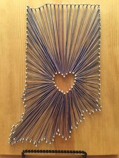 Indiana string art                                                                                                                                                      More