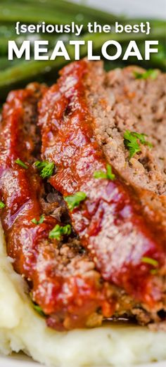 Everything about this meatloaf is good - it has the best glaze and the flavor is awesome. This is our go-to meatloaf recipe - it is easy and excellent! Meat Loaf Recipe Easy, Meat Recipes, Cooking Recipes, Healthy Meatloaf Recipes, Cooking Meatloaf, Meatball Recipes, Dinner Recipes, Meatball Subs, Meat Lof Recipe