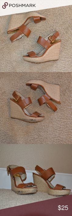 michael kors wedges most comfortable wedges ever! take them to a shoe repair shop to fix. they've lasted me for years! KORS Michael Kors Shoes Wedges