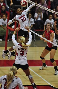 See a Wisconsin volleyball game in the Field House